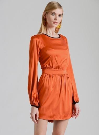 Özlem Erkan Elbise Oranj